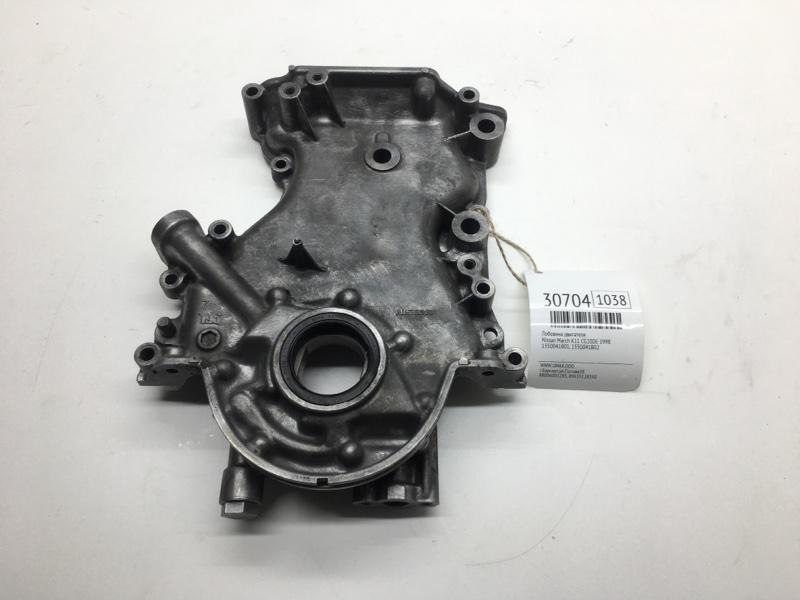 Лобовина двигателя Nissan March K11 CG10DE 1998 (б/у)