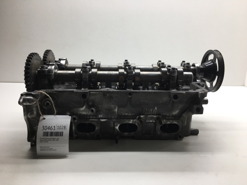 Головка блока цилиндров Mazda Mpv LW28G GYDE 2000 левая (б/у)