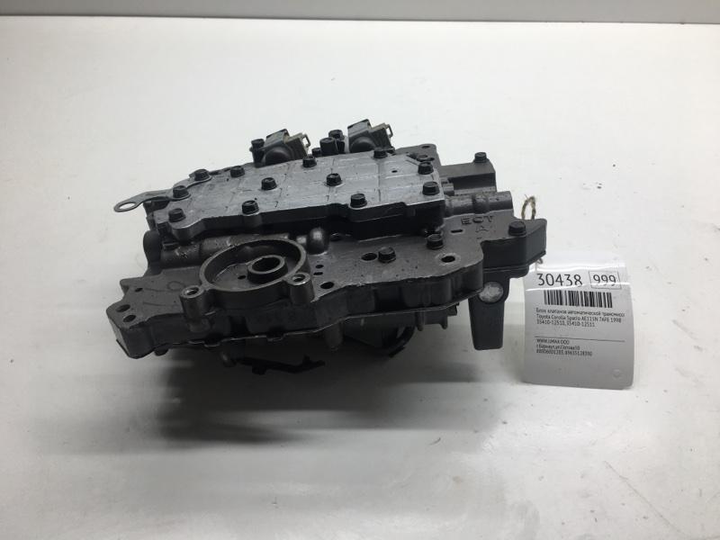 Блок клапанов автоматической трансмиссии Toyota Corolla Spacio AE115N 7AFE 1998 (б/у)