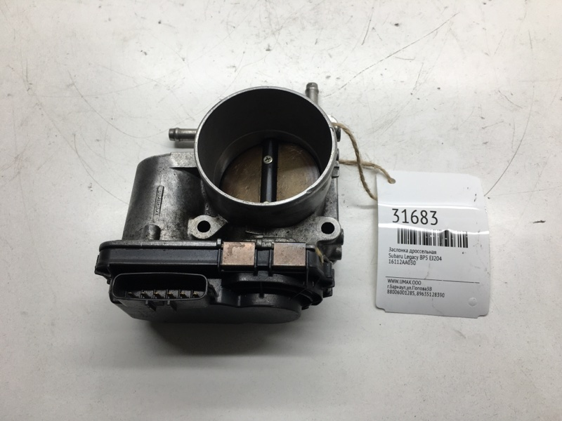 Заслонка дроссельная Subaru Legacy BP5 EJ204 (б/у)