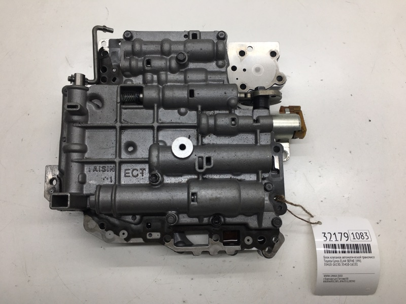 Блок клапанов автоматической трансмиссии Toyota Cynos EL44 5EFHE 1991 (б/у)