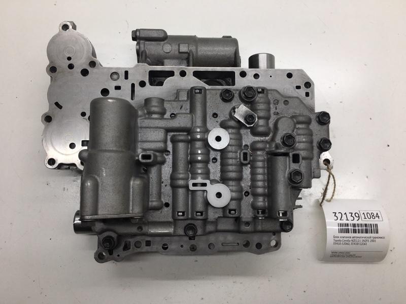 Блок клапанов автоматической трансмиссии Toyota Corolla NZE121 1NZFE 2001 (б/у)