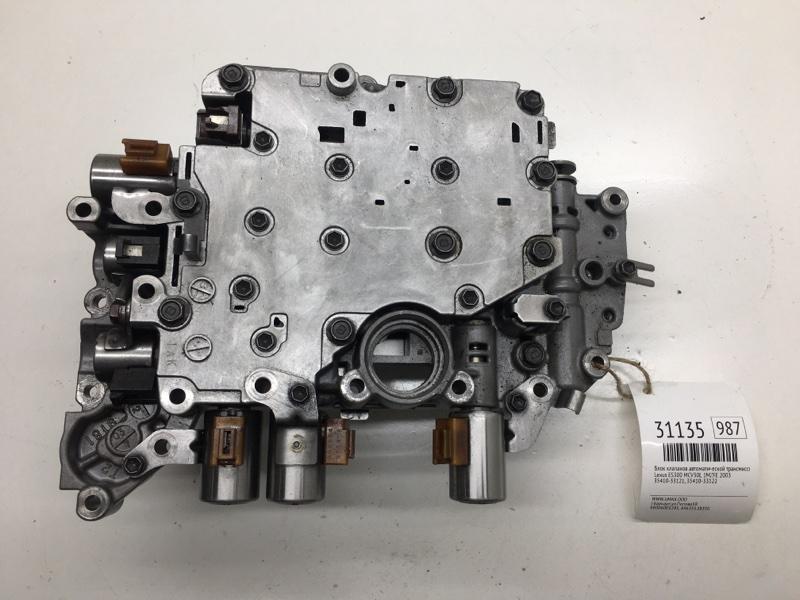 Блок клапанов автоматической трансмиссии Lexus Es300 MCV30L 1MZFE 2003 (б/у)
