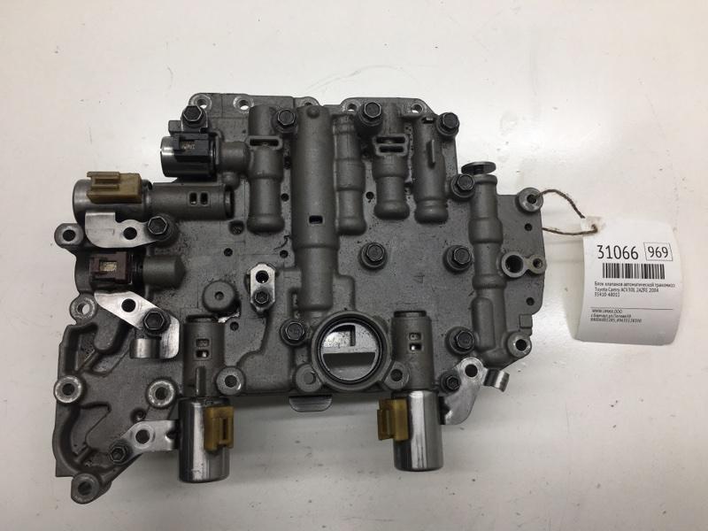 Блок клапанов автоматической трансмиссии Toyota Camry ACV30L 2AZFE 2004 (б/у)