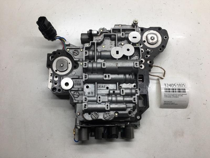 Блок клапанов автоматической трансмиссии Nissan Sunny FNB15 QG15DE 2002 (б/у)