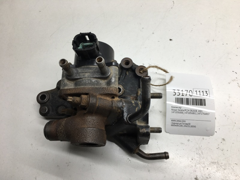 Клапан egr Nissan Serena PC24 SR20DE 2001 (б/у)