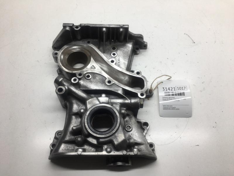 Лобовина двигателя Nissan Ad Wagon VFY11 QG15DE 2001 (б/у)
