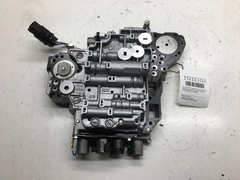 Блок клапанов автоматической трансмиссии Nissan Wingroad WFY11 QG15DE 2002 (б/у)