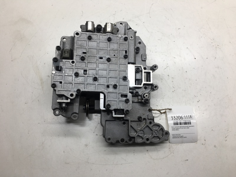 Блок клапанов автоматической трансмиссии Toyota Caldina ST210 3SFE 2000 (б/у)