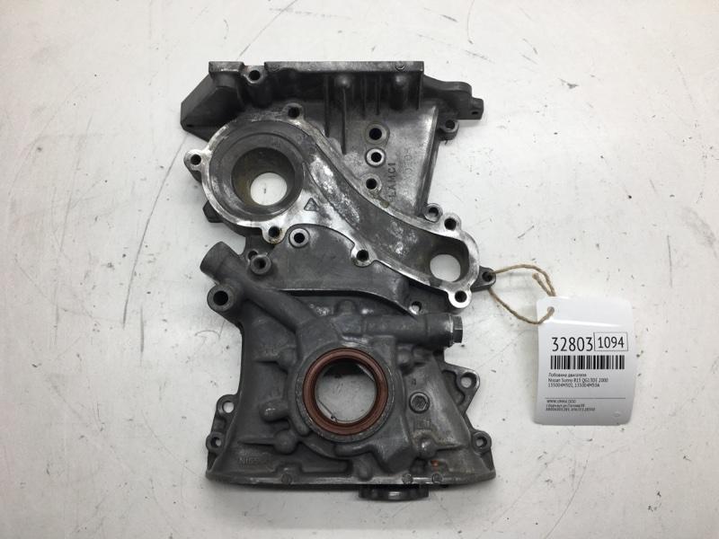 Лобовина двигателя Nissan Sunny B15 QG13DE 2000 (б/у)