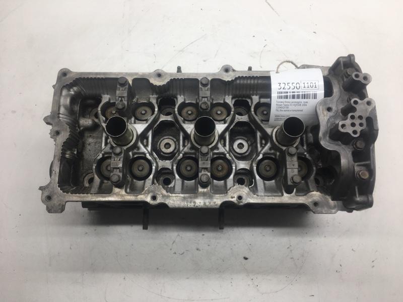 Головка блока цилиндров Nissan Teana J31 VQ35DE 2006 правая (б/у)