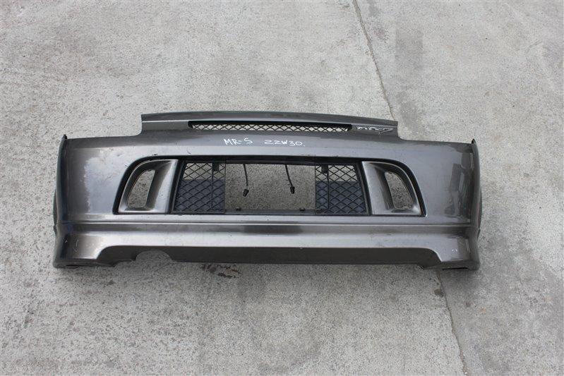 Бампер Toyota Mr-S ZZW30 1ZZ-FE задний (б/у)