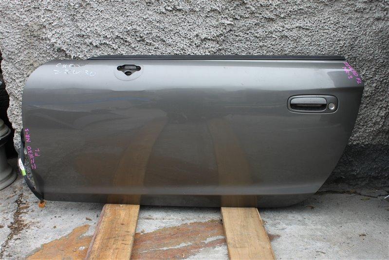 Дверь Toyota Mr-S ZZW30 1ZZ-FE передняя левая (б/у)