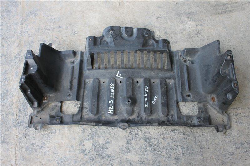 Защита двигателя Toyota Mr-S ZZW30 1ZZ-FE передняя (б/у)