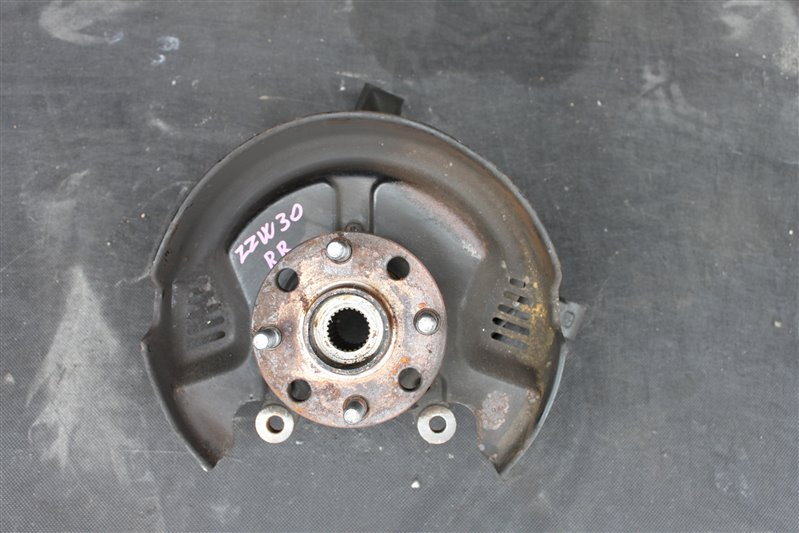 Ступица Toyota Mr-S ZZW30 1ZZ-FE задняя правая (б/у)
