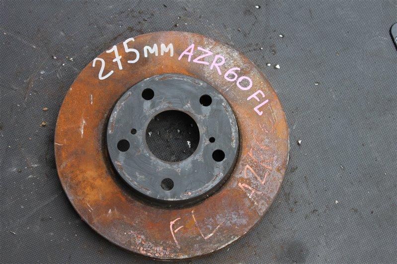 Тормозной диск Toyota Noah AZR60 1AZ-FSE передний левый (б/у)