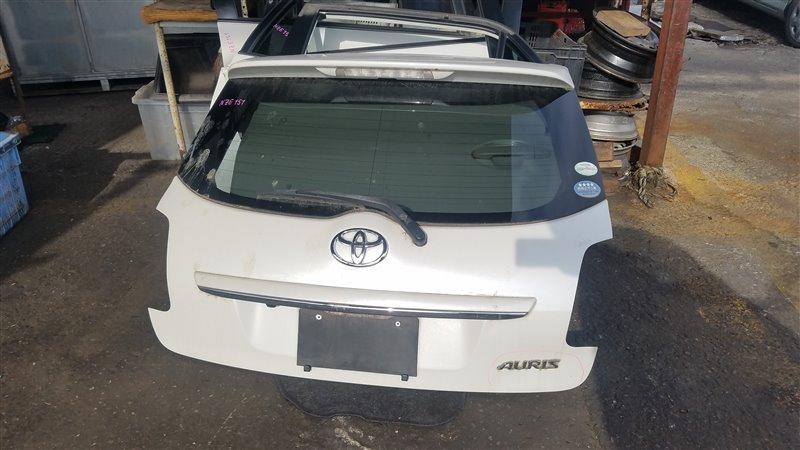 Дверь 5-я Toyota Auris NZE151 (б/у)