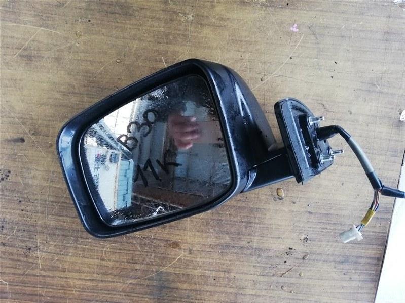 Зеркало Nissan Lafesta B30 переднее левое (б/у)
