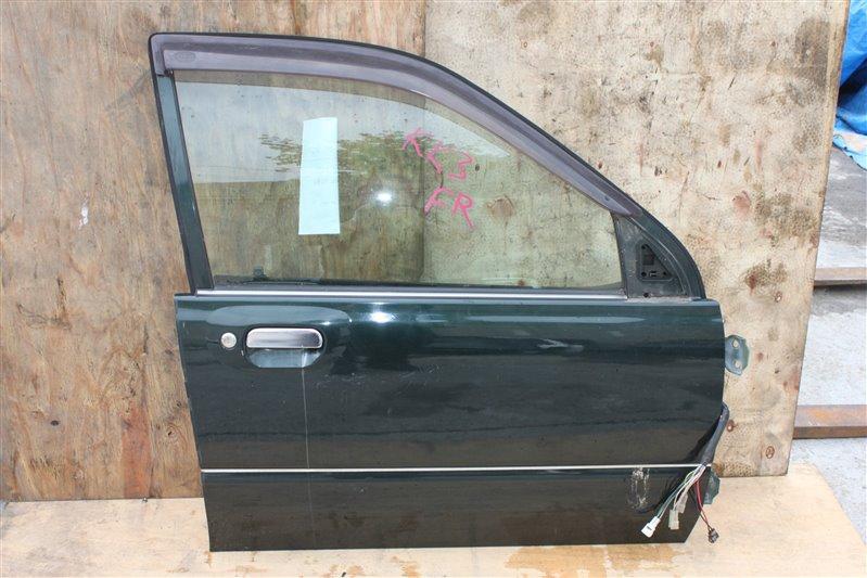 Дверь Subaru Vivio KK3 передняя правая (б/у)