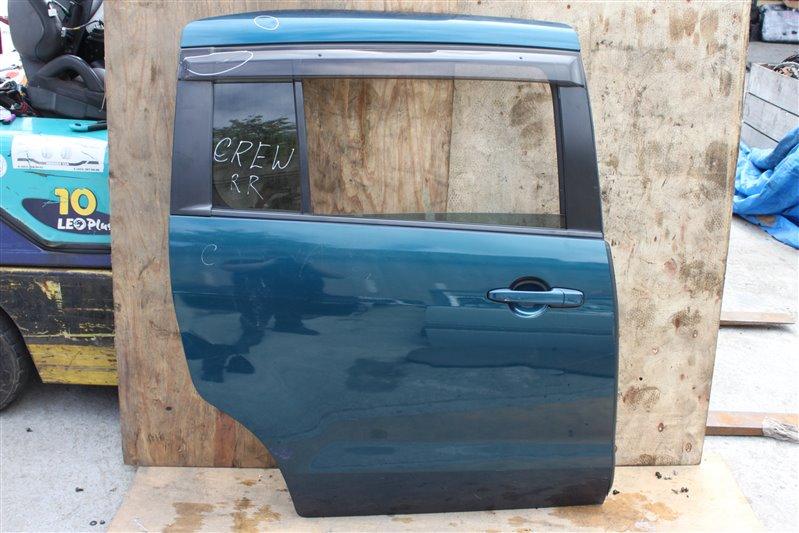 Дверь Mazda Premacy CREW задняя правая (б/у)