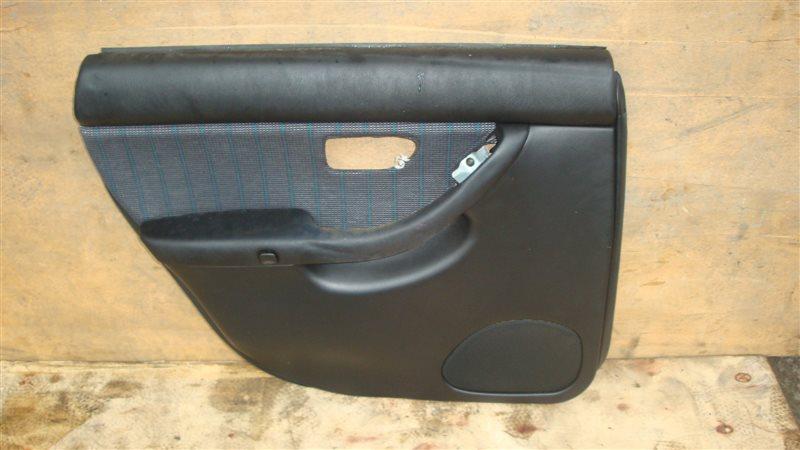 Обшивка дверей Subaru Legacy B4 BE5 задняя левая (б/у)