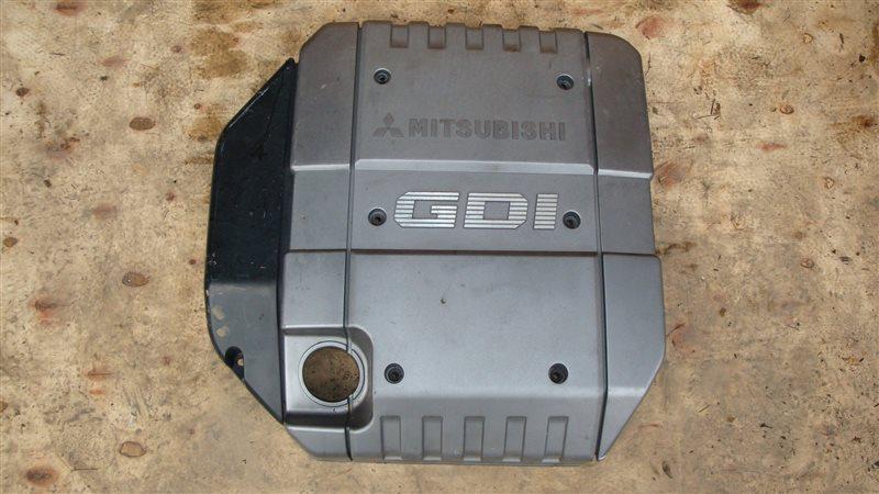 Декоративная крышка двс Mitsubishi Delica PD4W 4G64 (б/у)