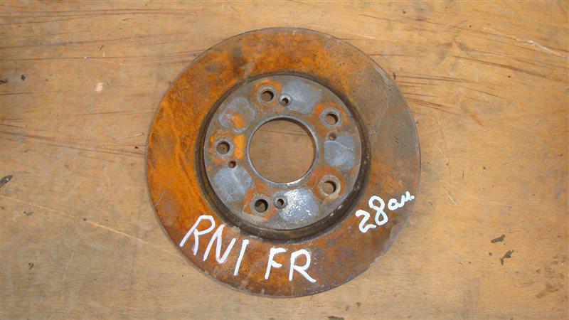 Тормозной диск Honda Stream RN1 передний правый (б/у)