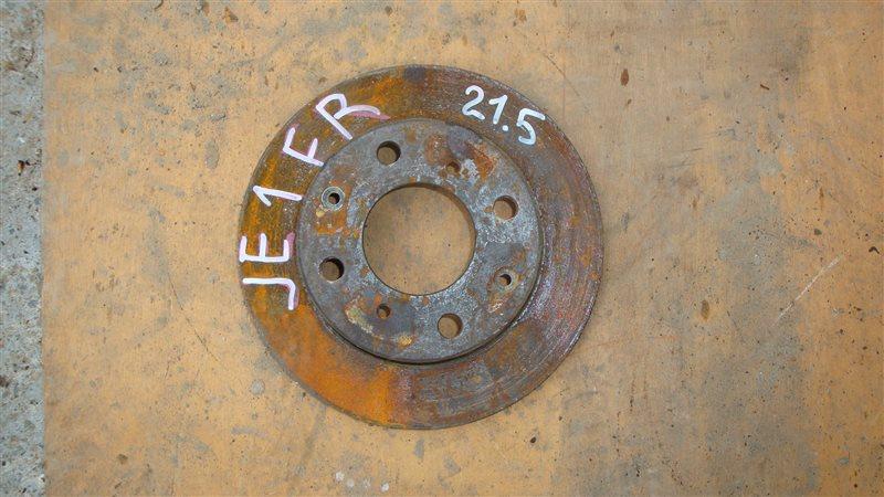 Тормозной диск Honda Zest JE1 передний правый (б/у)