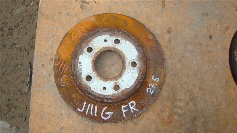 Тормозной диск Daihatsu Terios Kid J111G передний правый (б/у)