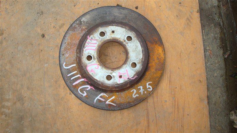 Тормозной диск Daihatsu Terios Kid J111G передний левый (б/у)