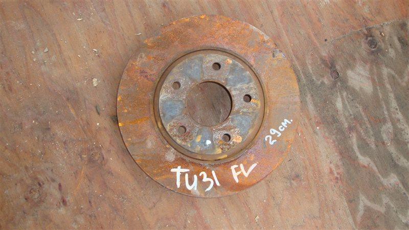 Тормозной диск Nissan Presage TU31 передний левый (б/у)