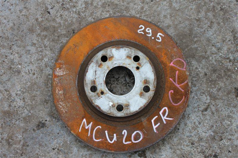 Тормозной диск Toyota Kluger MCU20 передний правый (б/у)