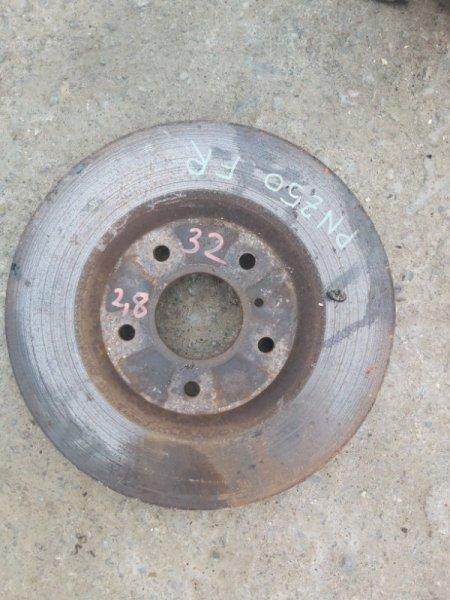Тормозной диск Nissan Murano PNZ50 VQ35 передний правый (б/у)
