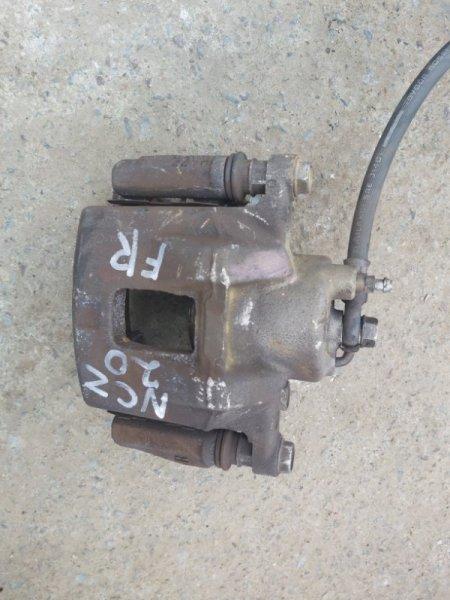 Суппорт Toyota Raum NCZ20 1NZ-FE передний правый (б/у)