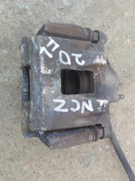 Суппорт Toyota Raum NCZ20 1NZ-FE передний левый (б/у)