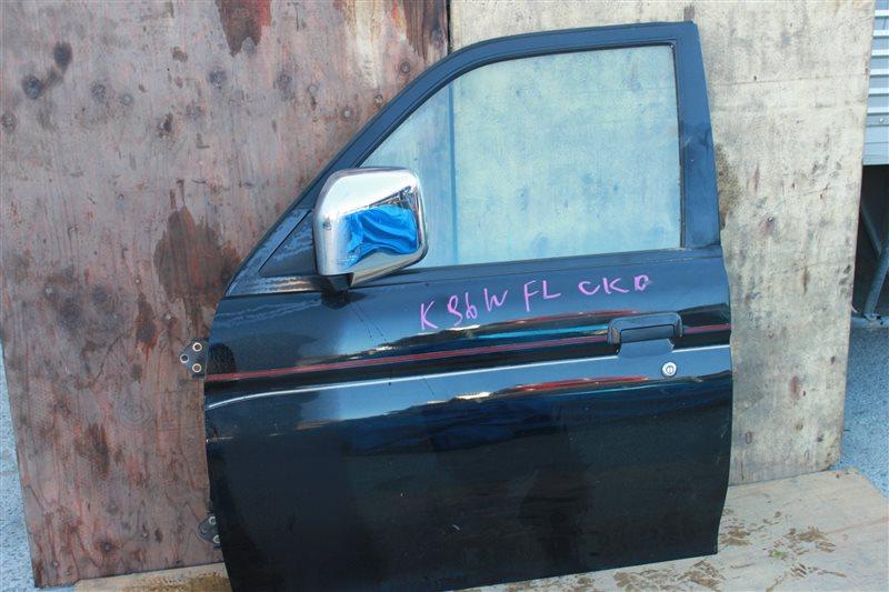 Дверь Mitsubishi Challenger K96W передняя левая (б/у)