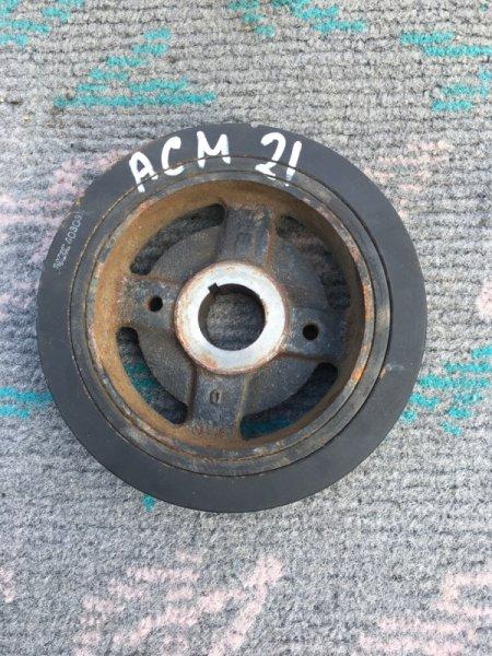 Шкив коленвала Toyota Ipsum ACM21 2AZ-FE (б/у)