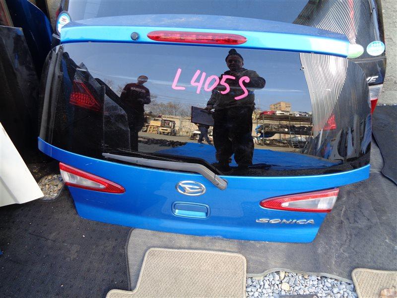 Дверь 5-я Daihatsu Sonica L405S (б/у)