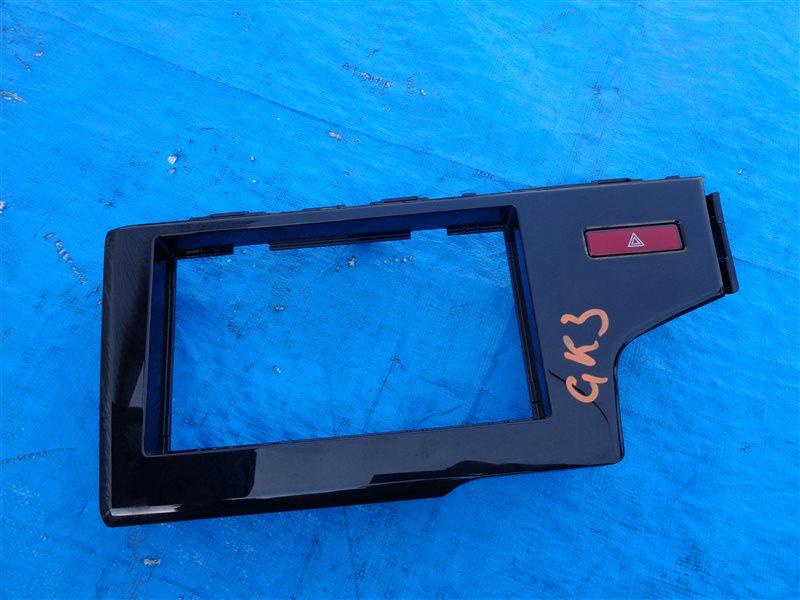 Консоль магнитофона Honda Fit GK3 GP5 GK4 GK5 GK6 GP7 (б/у)