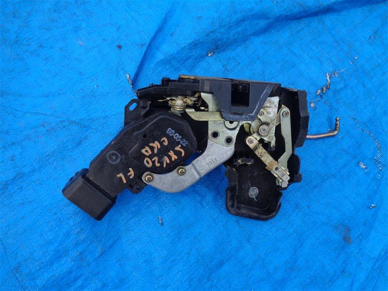 Замок двери Toyota Mark 2 Qualis SXV20 5S-FE передний левый (б/у)