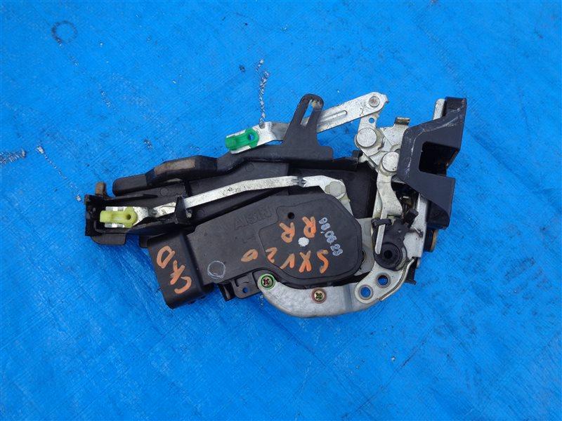 Замок двери Toyota Mark 2 Qualis SXV20 5S-FE задний правый (б/у)