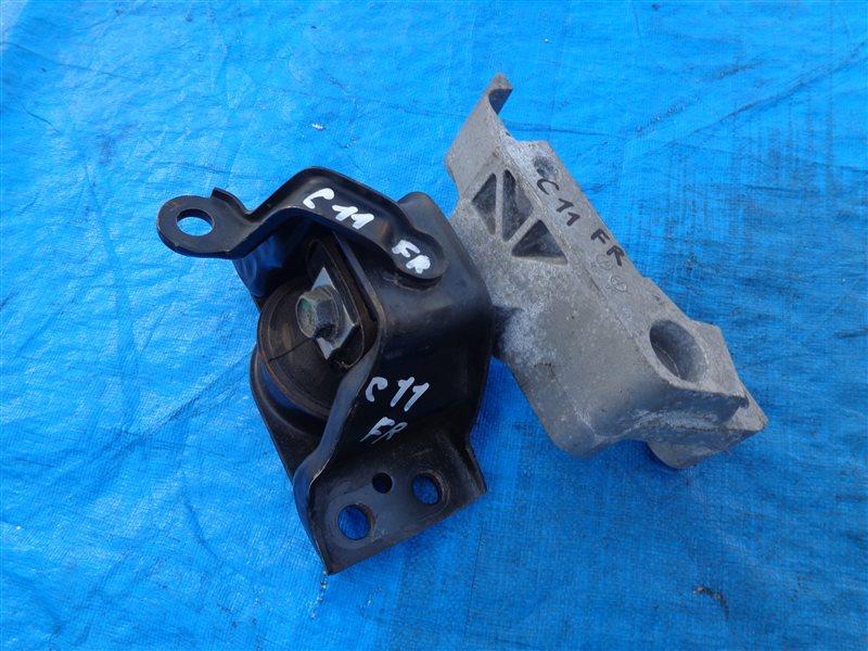 Подушка двигателя Nissan Tiida C11 HR15 правая (б/у)