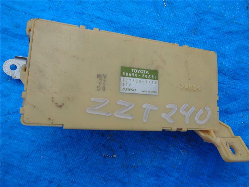 Блок управления климат-контролем Toyota Allion ZZT240 1ZZ-FE (б/у)