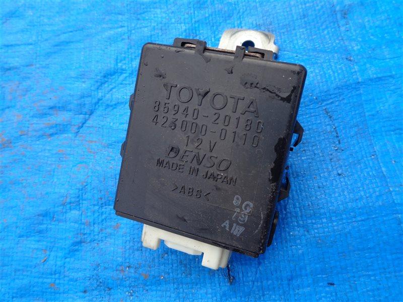 Блок управления стеклоочистителем Toyota Allion ZZT240 1ZZFE (б/у)