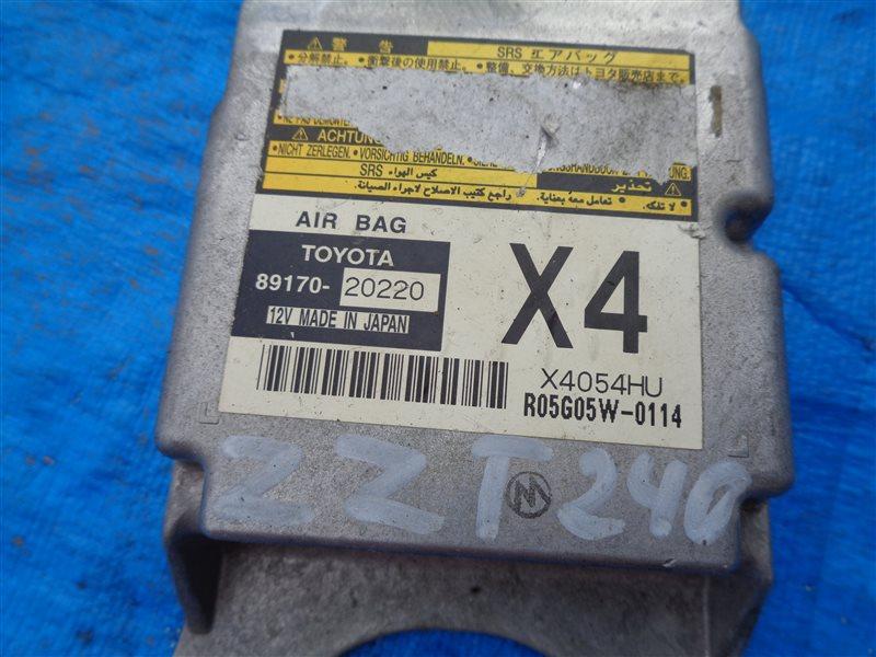 Блок управления airbag Toyota Allion ZZT240 1ZZFE (б/у)