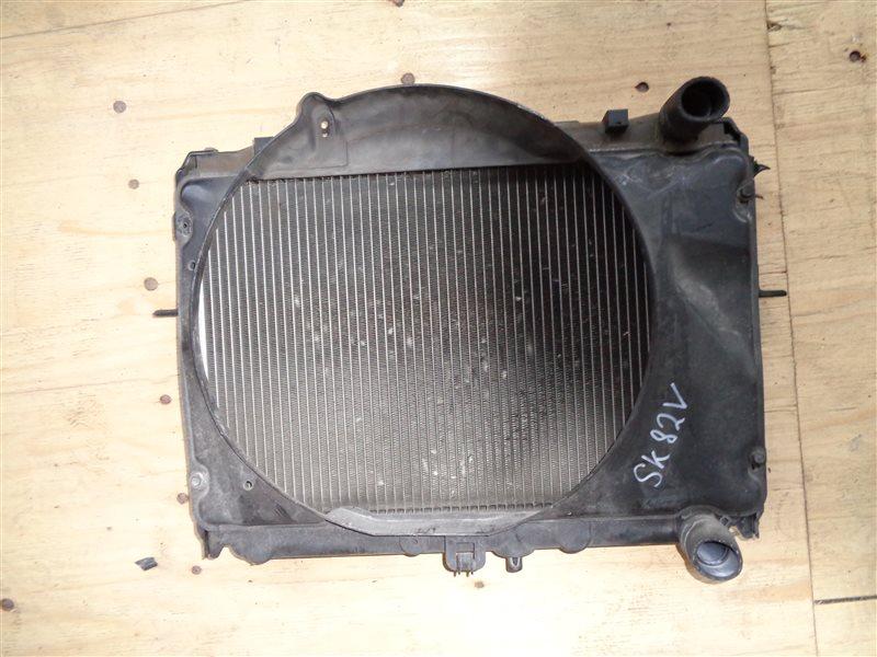 Радиатор основной Mazda Bongo SK82 (б/у)