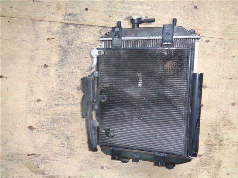 Радиатор основной Daihatsu Move L152S JBDET (б/у)
