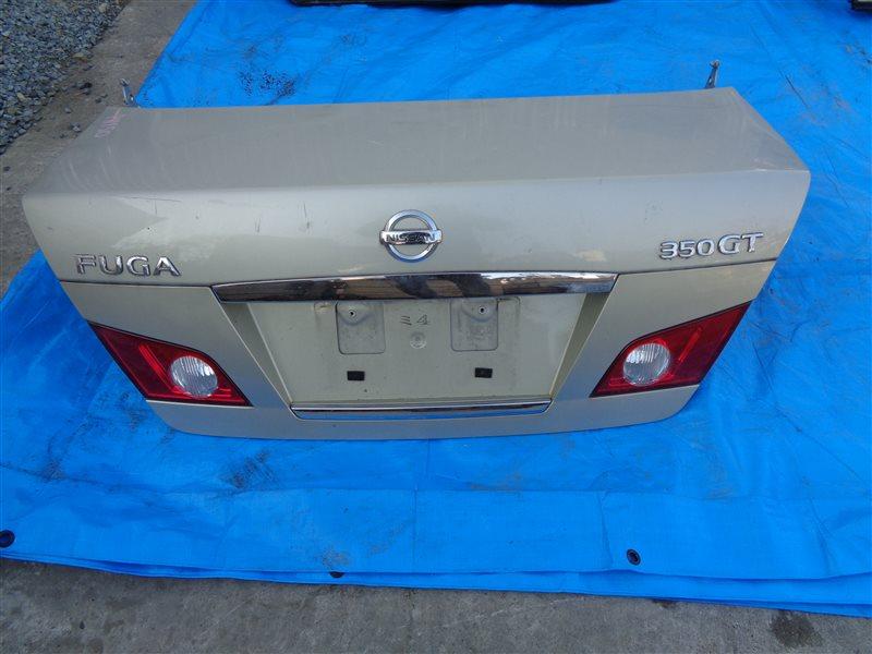 Крышка багажника Nissan Fuga PNY50 VQ35DE (б/у)