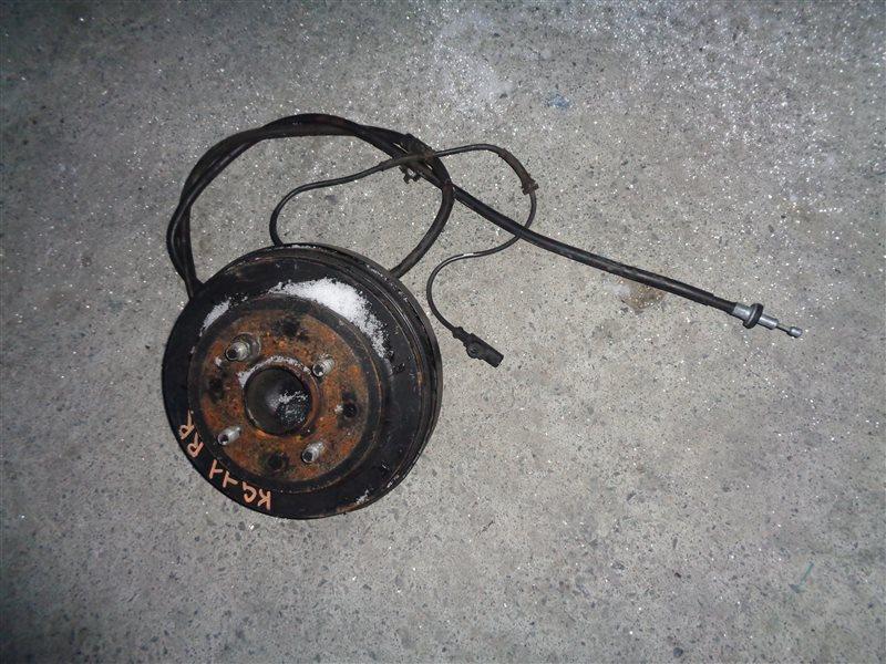 Ступица Nissan Bluebird Sylphy KG11 MR20DE задняя правая (б/у)