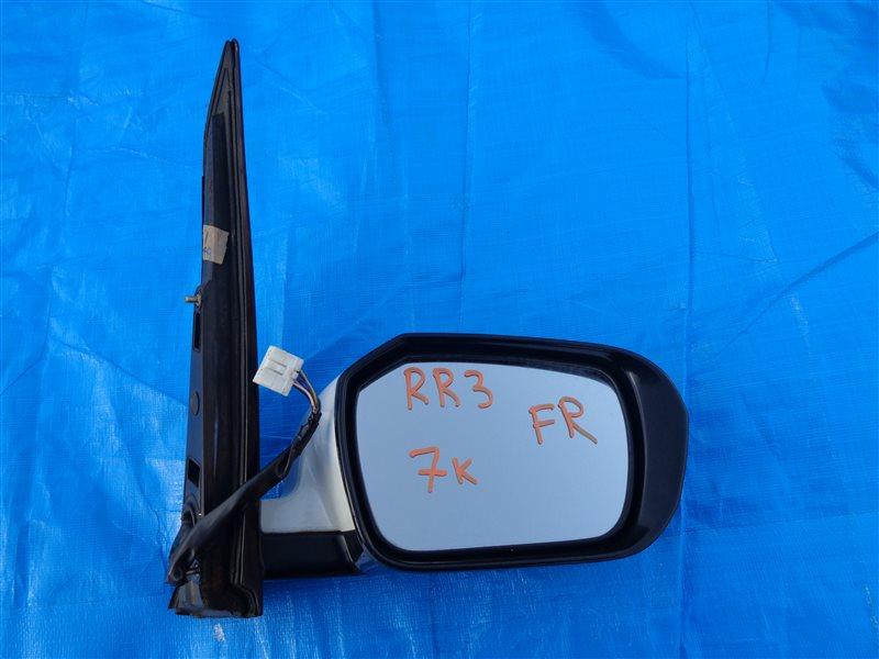 Зеркало Honda Elysion RR3 J30A переднее правое (б/у)